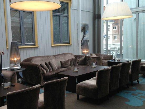 Clarion Collection Hotel Tollboden: Wintergarten