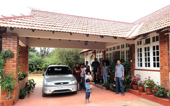 Entrance porch picture of coorg classic home stay for Classic homes reviews