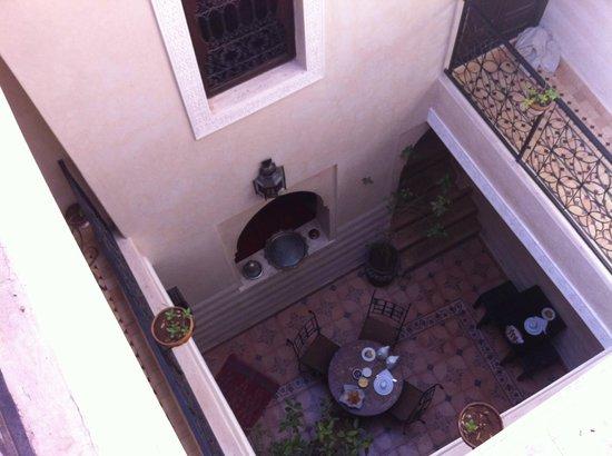 Riad Casa Sophia: vista sul patio