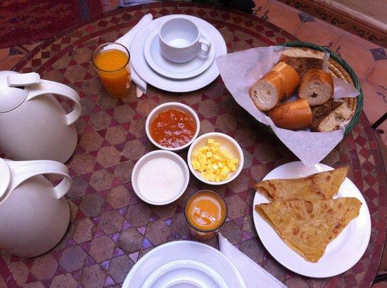 Riad Casa Sophia: colazione