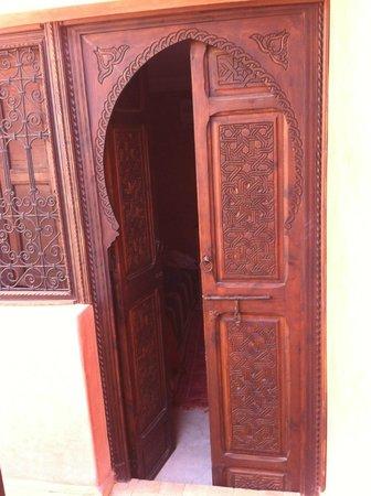 Riad Casa Sophia : ingresso in stanza