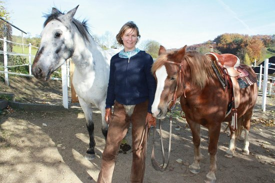 Guesthouse Bad Kilchberg: Horse riding lessons