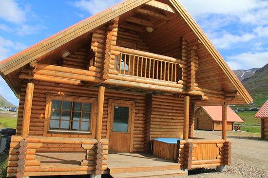 Small cabin kitchenette Picture of Brimnes Hotel& Cabins, Olafsfjordur TripAdvisor