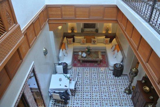 Riad Gallery 49 : pation
