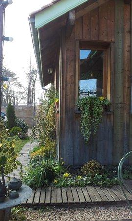 Au Jardin : El jardin exterior también precioso