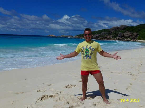 Grand Anse: VIEW ON THE BEAUTIFUL BEACH OF GRANSE ANSE, IN APRIL 2013.