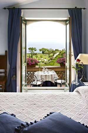Villa Cimbrone Hotel: Deluxe Sea View