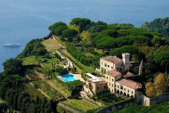 Villa Cimbrone Hotel : Aerial