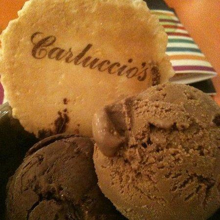 Carluccios - Cambridge: Chocolate & coffee gelato