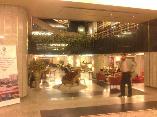 Hormoz Hotel: Lobby Area