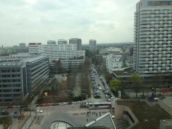 The Westin Grand Munchen: Aussicht 15.Stock, nach Osten
