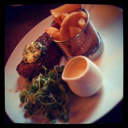 The Royal Oak Hotel: The steak I had - delicious