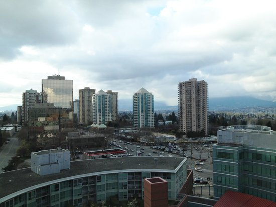 Hilton Vancouver Metrotown: The view from room