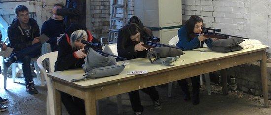 High Harthay Outdoor Pursuits: Air Rifle Range