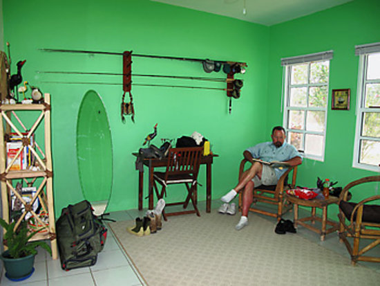 Fisherman Fishing Lodge: Sitting Room