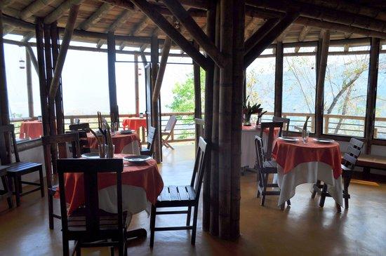 Minca Ecohabs Hotel : restaurant/breakfast area