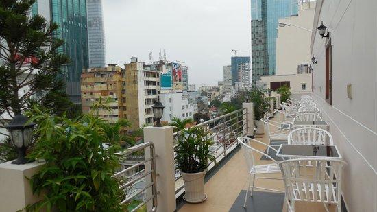 Huong Sen Hotel: partial view