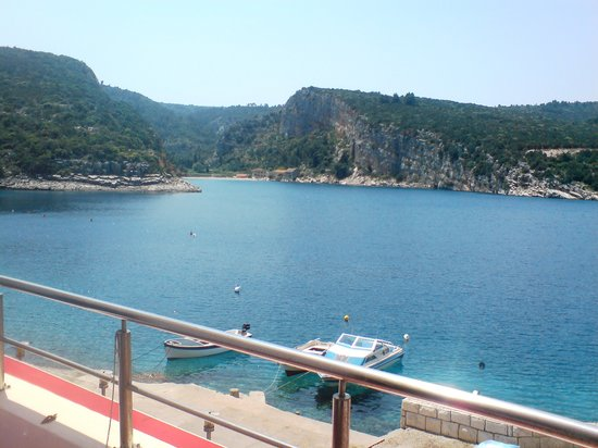 Hotel Timun Hvar : View from balcony
