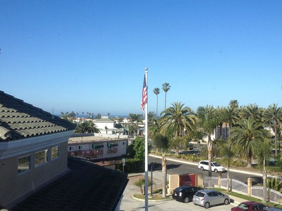 Comfort Suites Oceanside Marina : View from Room
