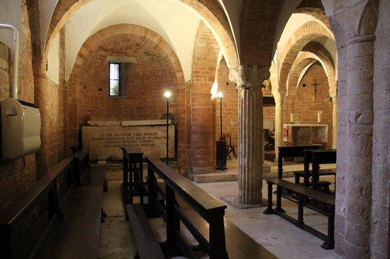 Spoleto, Italien: cripta