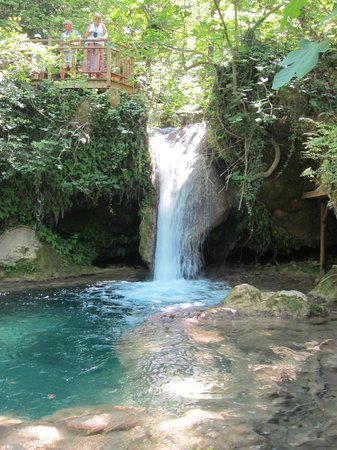 SunConnect Grand Ideal Premium : A nearby waterfall on one of the trips