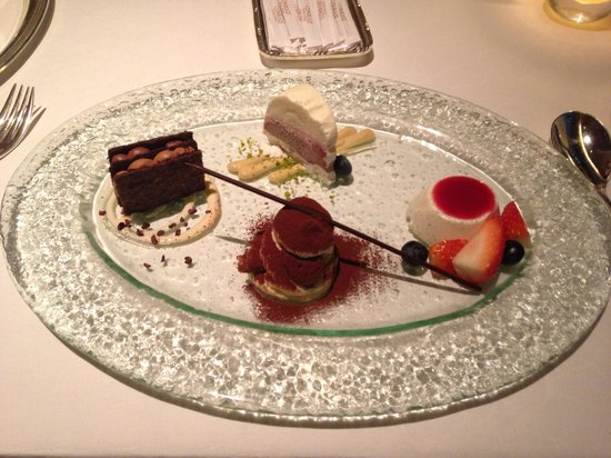 Brasserie on the Eighth at Conrad Hong Kong: Dessert