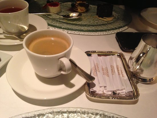Brasserie on the Eighth at Conrad Hong Kong: Coffee