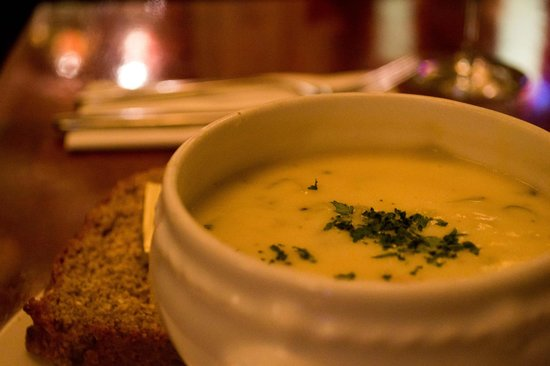 The White Lady: Seafood Chowder
