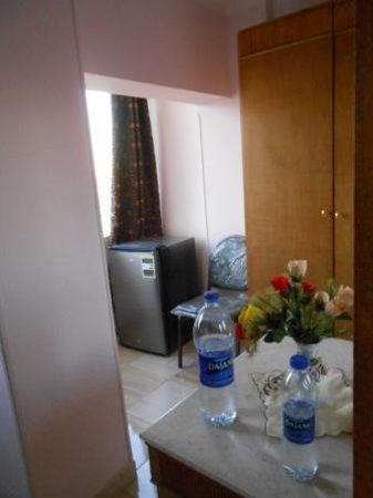 Isis Hotel: Big fridge in my room