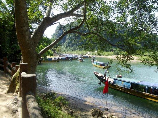 location photo direct link phong farmstay bang national park quang binh province