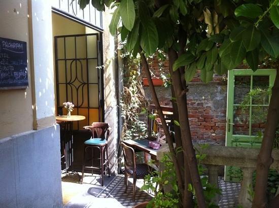 Restoran Jevrem: bašta