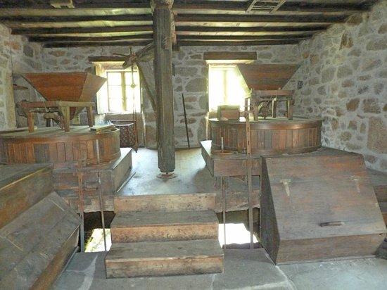 Fervenza Casa Grande: Interior del molino