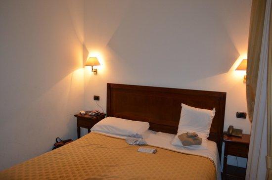 Hotel La Forcola: lit
