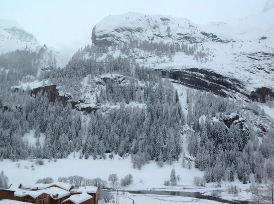 Chalet Bonjour-Panoramique : The view from our room - never got bored of it!