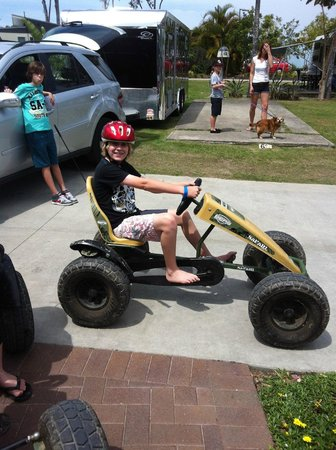 Gold Coast Holiday Park & Motel: Go Carts