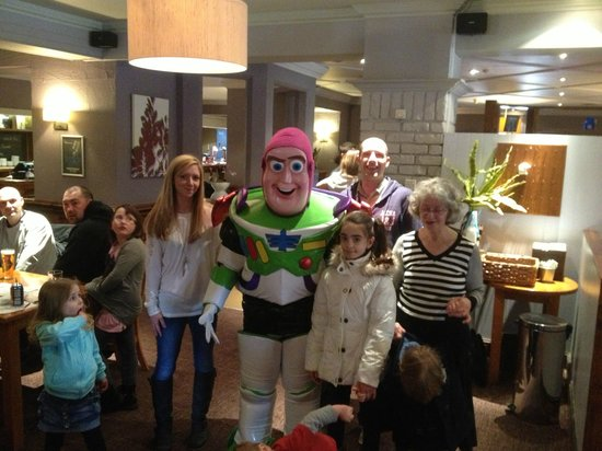 Wheel Inn: Family Day with Buzz Lightyear