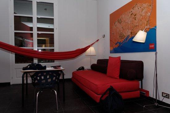 Casa Camper Hotel Barcelona: salon