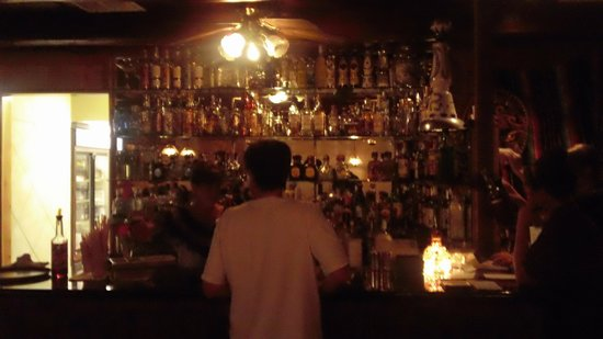 El Cid Mexican Cuisine: Well stocked bar