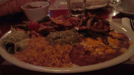 El Cid Mexican Cuisine: HUGE Fajita platter