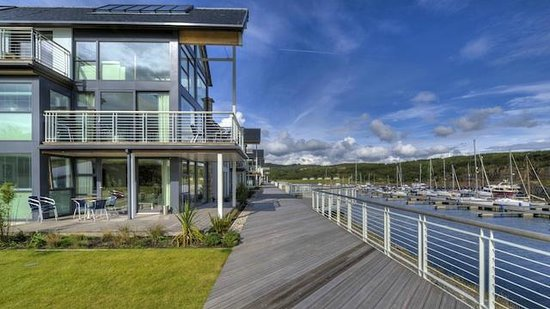 Portavadie, UK: Luxury Apartments overlooking the Marina