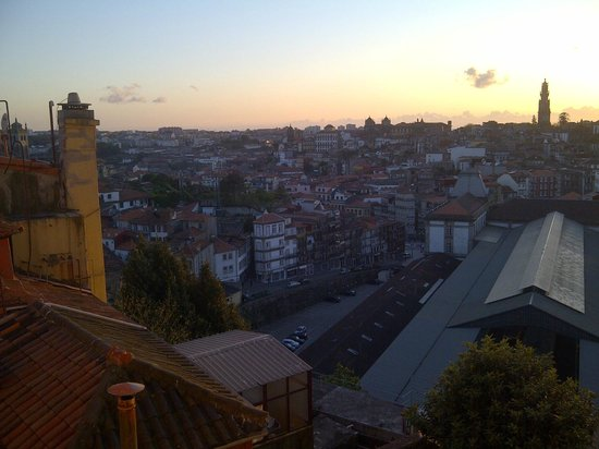 Mercure Porto Centro Hotel: vue gare sao bento nuit