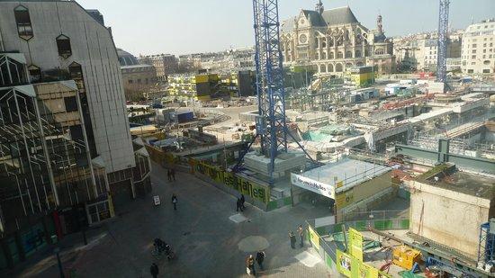 Novotel Paris Les Halles: view from hotel room
