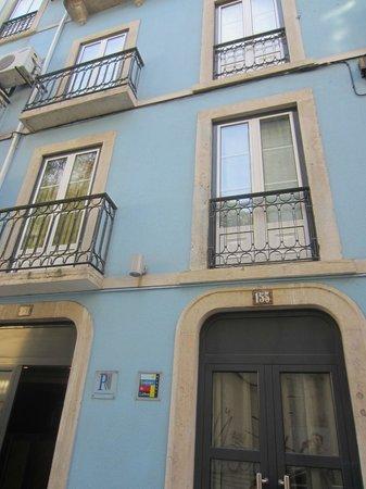 Hotel Portuense: Exterior of Pensao Portunese
