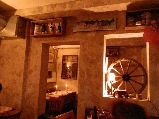 Casa Alfredo: Blick ins Restaurant