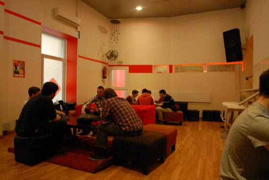 Way Hostel: Lounge