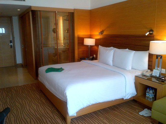 Courtyard Gurgaon: Ample rooms and great loos