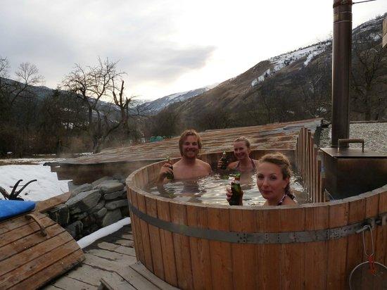 Chalet Sterwen : Hot Tub