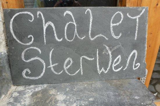 Chalet Sterwen : Sign
