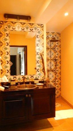Banheiro suite Superior Deluxe