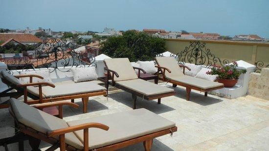San Pedro Hotel Spa: No topo do hotel